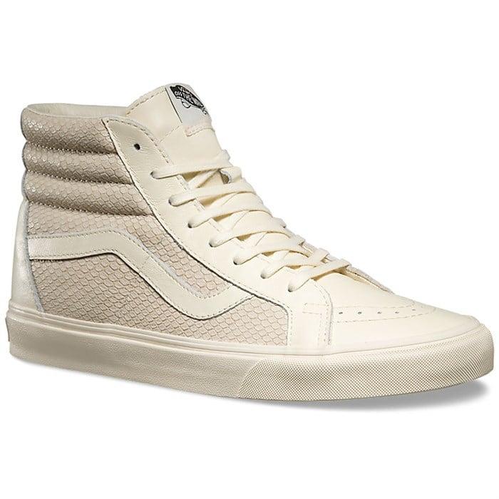 Vans - SK8-HI Reissue Snake Leather Shoes - Women's ...