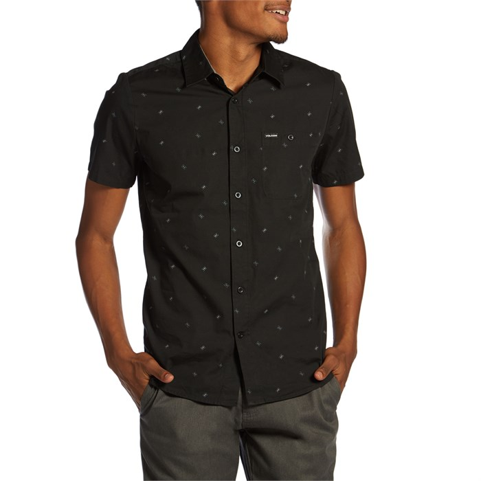 Volcom Breck Yoi Print Short-Sleeve Button Down Shirt | evo