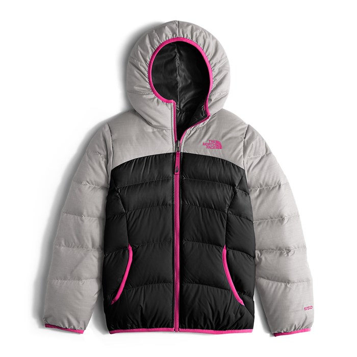 the north face reversible moondoggy jacket girls evo rh evo com
