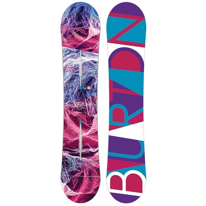burton feelgood flying v snowboard s 2017 evo
