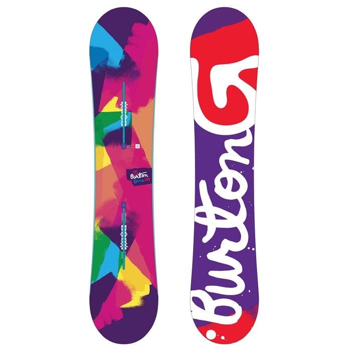 burton genie snowboard s 2017 evo