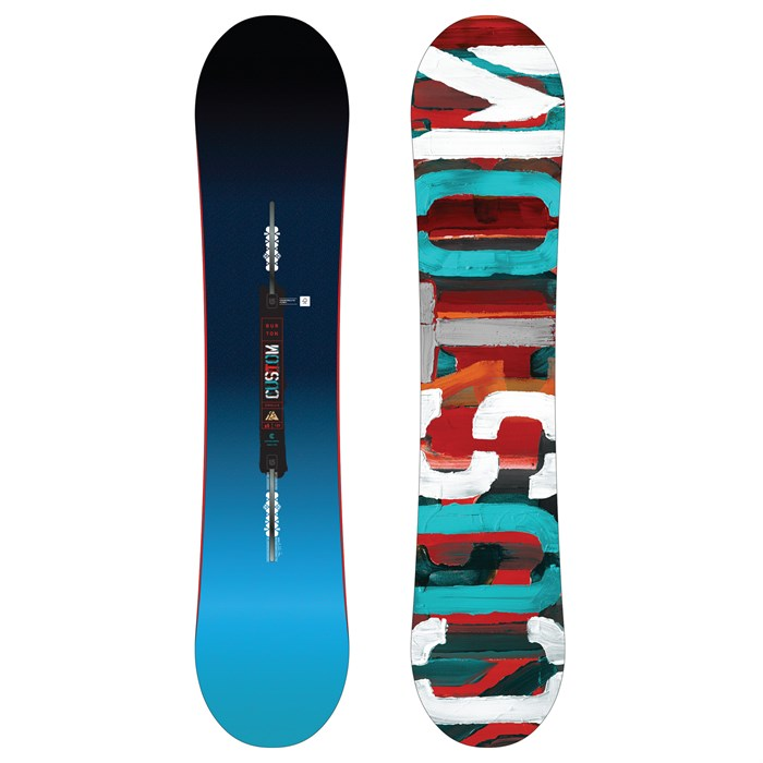 Burton - Custom Smalls Snowboard - Boys' 2017