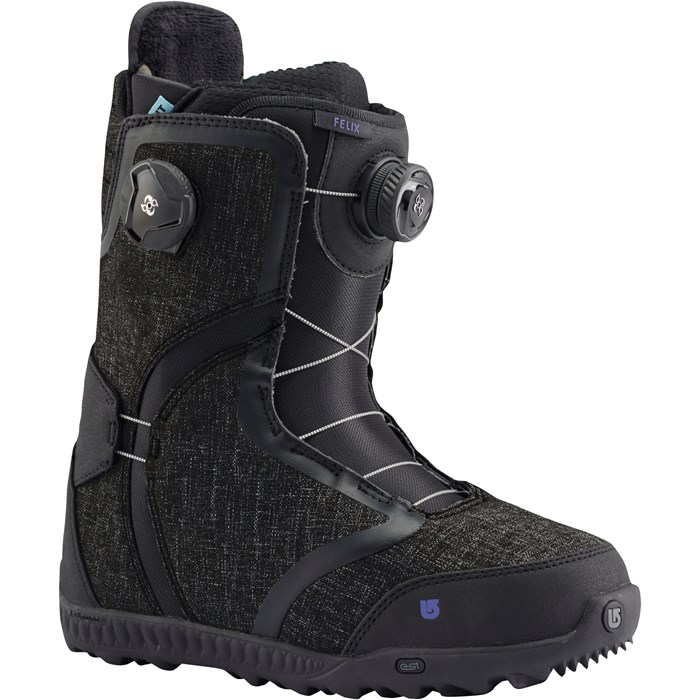 burton felix boa snowboard boots s 2017 evo