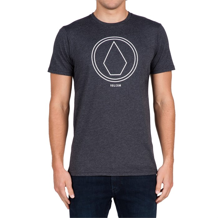 volcom pin line stone t shirt evo outlet. Black Bedroom Furniture Sets. Home Design Ideas