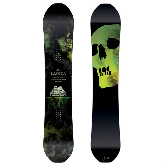 CAPiTA - The Black Snowboard of Death Snowboard 2017