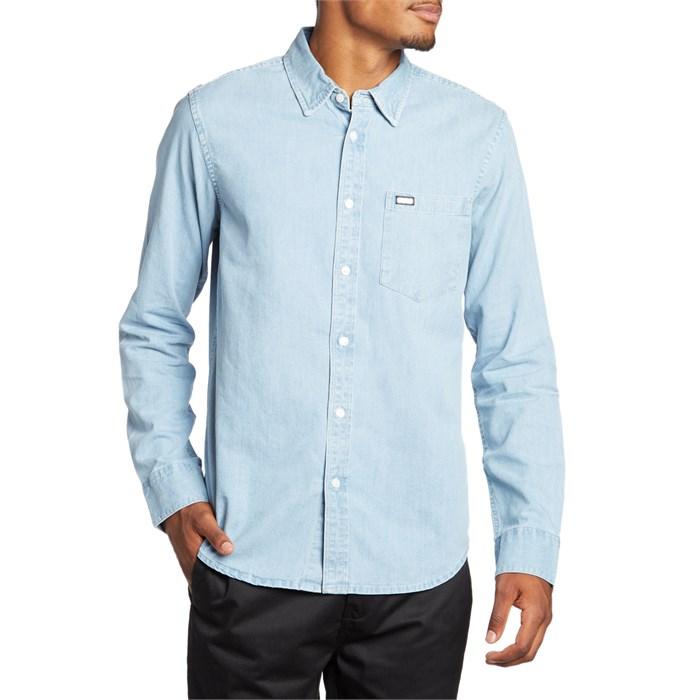 609fb28ec9a RVCA - Johnny Long-Sleeve Button Down Shirt ...