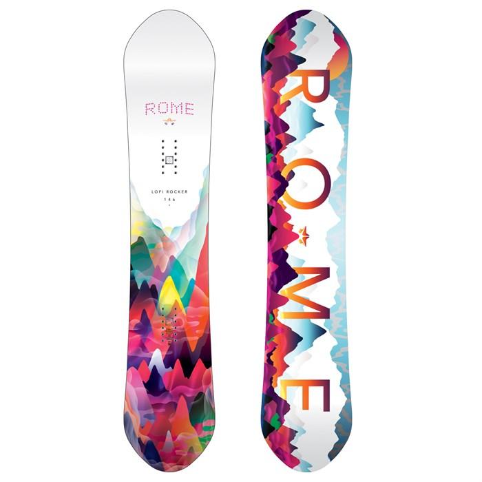 Rome Lo-Fi Rocker Snowboard - Women s 2017  e914b0ac9