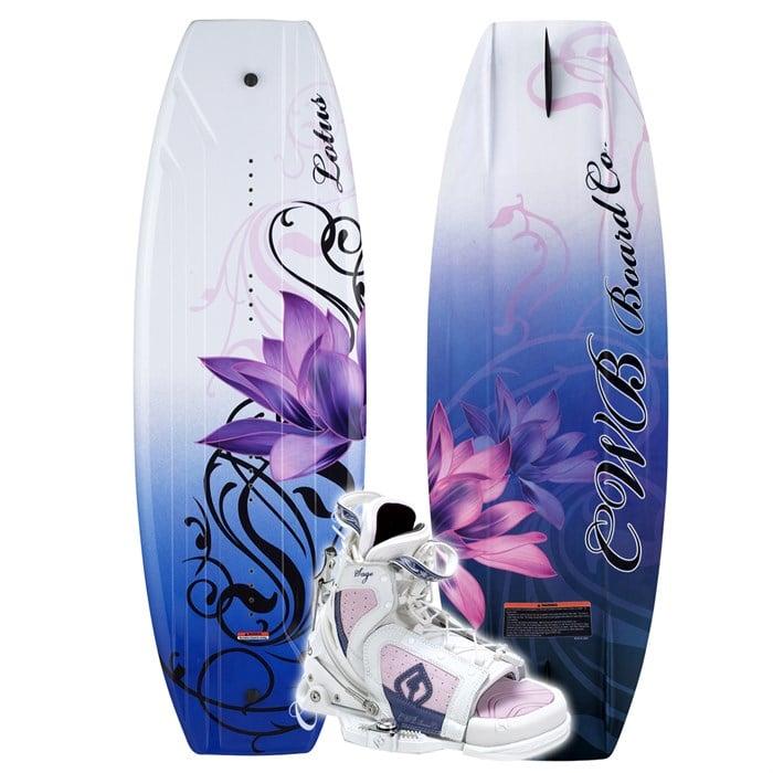 CWB - Lotus Wakeboard + Sage Wakeboard Boot - Women's 2007