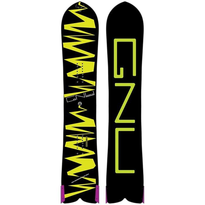 GNU - Finsanity 1984 DC2 BTX Snowboard 2017
