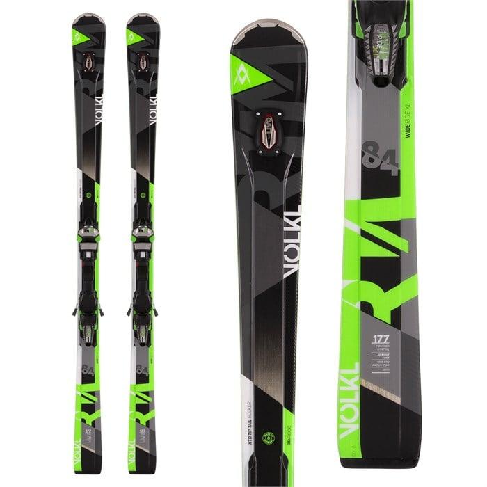 Volkl rtm uvo skis ipt wide ride bindings evo