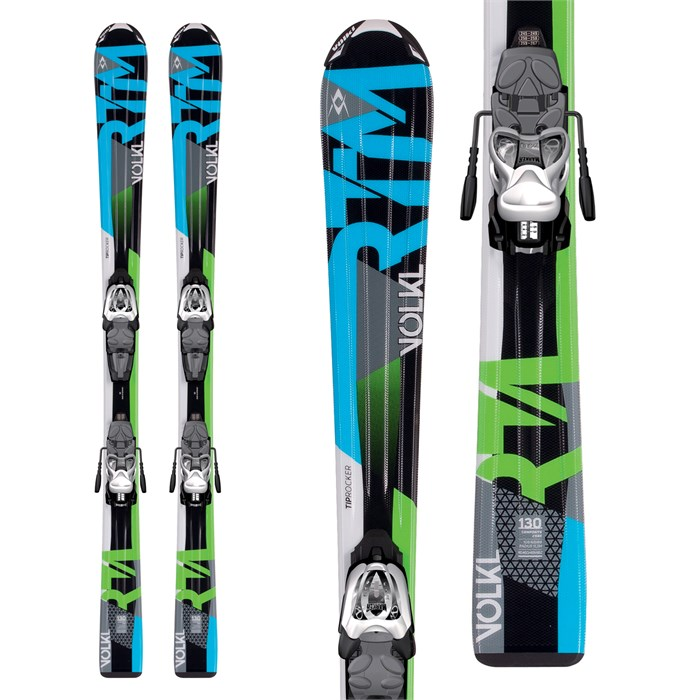 Volkl - RTM Jr Skis + 3Motion Jr 4.5 Bindings - Boys' 2017