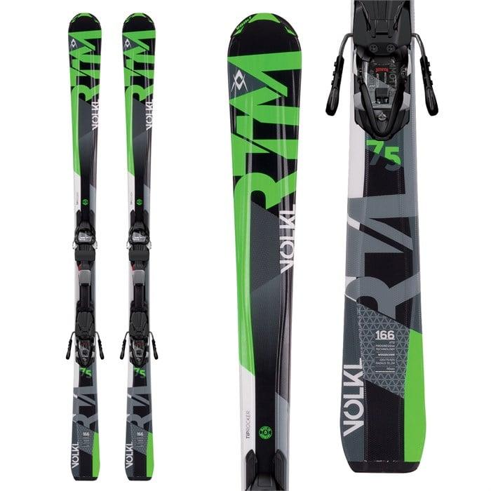 Volkl - RTM 75 Skis + 4Motion 10.0 Bindings 2017