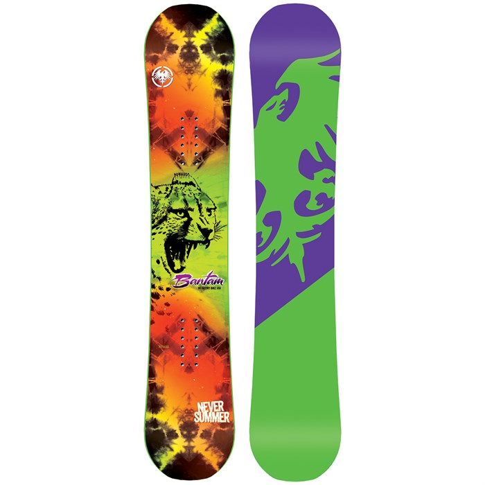 775c9d3c6531 Never Summer Bantam Snowboard - Boys  2017
