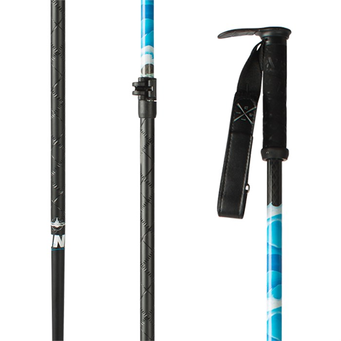 Line Skis - Pollard Carbon Adjustable Ski Poles 2017