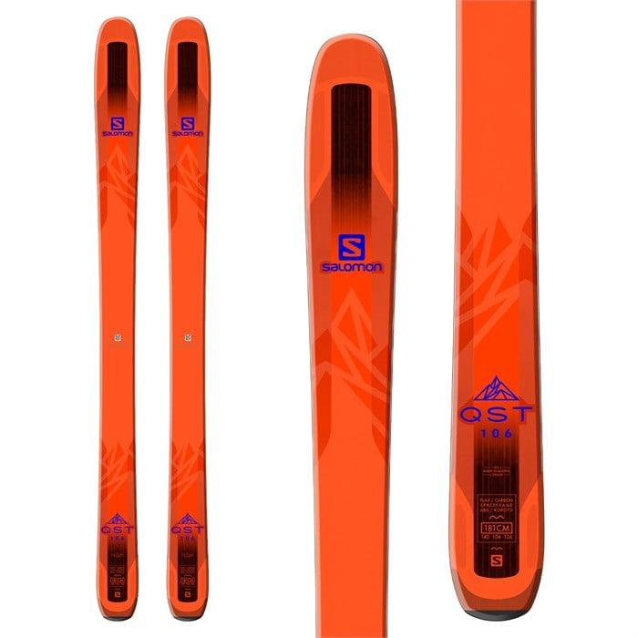 Salomon - QST 106 Skis 2018