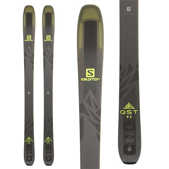 28c918e634 Salomon QST 92 Skis 2018
