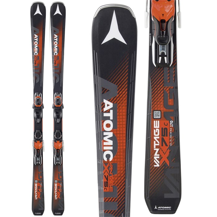 Atomic Vantage X 75 C Skis + Lithium 10 Bindings 2018