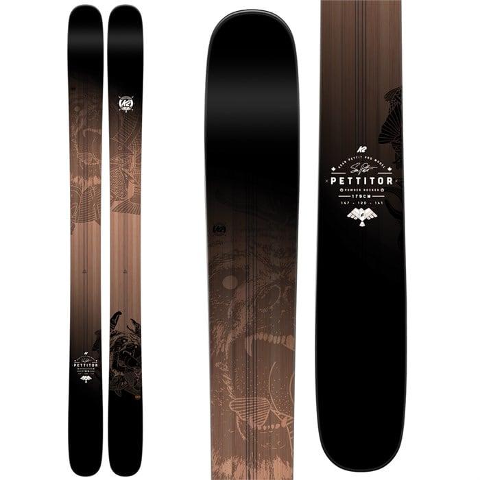 K2 - Pettitor Skis 2017