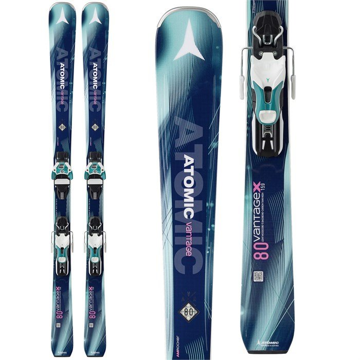 Atomic - Vantage X 80 CTI Skis + Warden 11 DT Bindings - Women's 2018