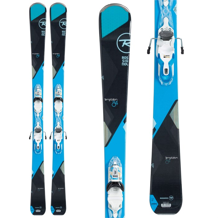 72b705333f Rossignol - Temptation 84 Skis + Look Xpress W 11 Bindings - Women s ...