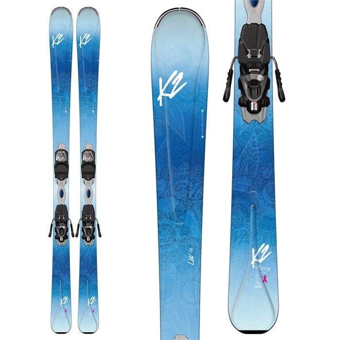 K2 LUV 75 Skis + ER3 10 Bindings - Women's 2017