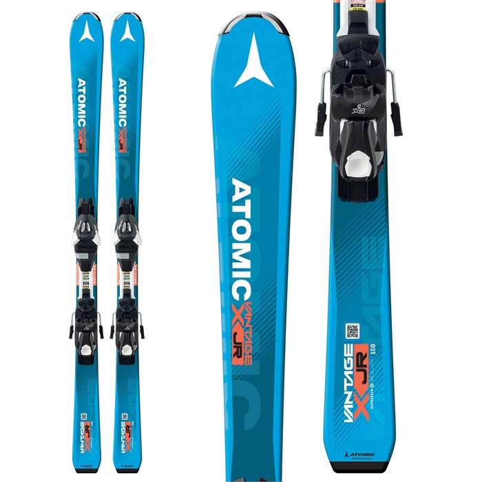Atomic - Vantage Jr. III Skis + EZYTRACK 7 Bindings - Boys' 2017