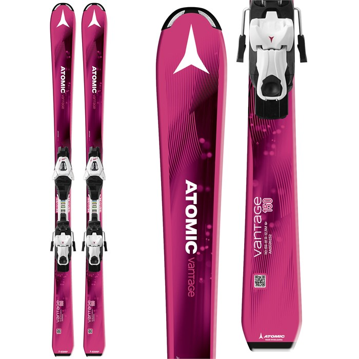 Atomic - Vantage Girl III Skis + XTE 7 Bindings - Big Girls' 2018