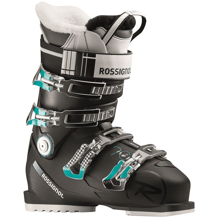 rossignol pure 70 ski boots women 39 s 2018 evo. Black Bedroom Furniture Sets. Home Design Ideas