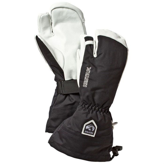 Hestra - Army Leather Heli Ski 3-Finger Mittens