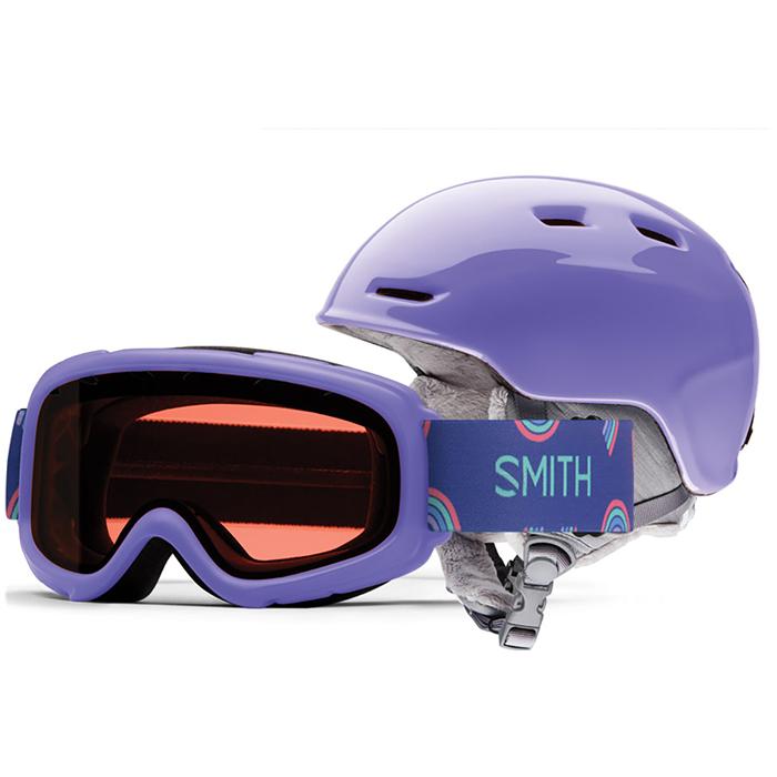Smith - Zoom Jr. Helmet + Gambler Goggle Combo - Big Kids'