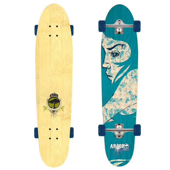 Arbor Sizzler Bamboo Complete Longboard Review