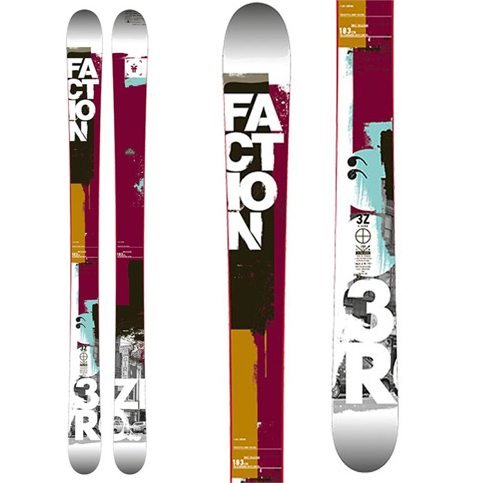 Faction - 3.Zero Skis 2015