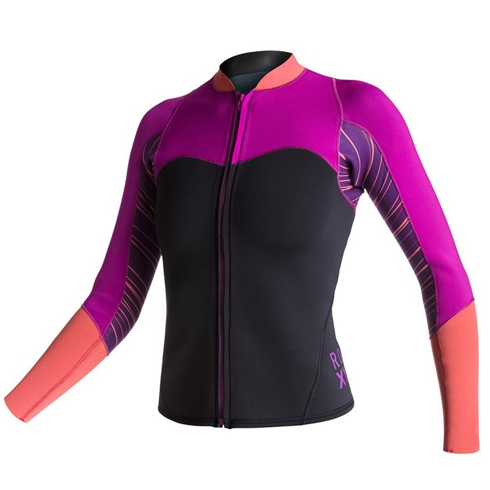 Roxy - XY 2mm Front Zip Wetsuit Jacket - Women s ... 769889d7d