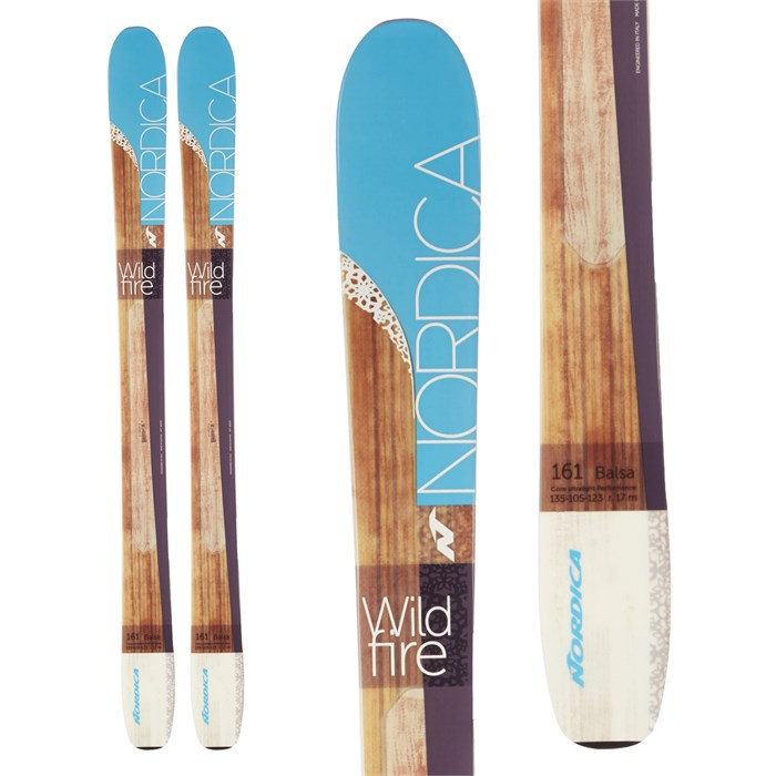 Nordica - Nordica Wildfire Skis - Women's 2016