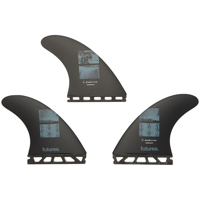 Futures - V2 Ando Large Blackstix 3.0 Tri Fin Set