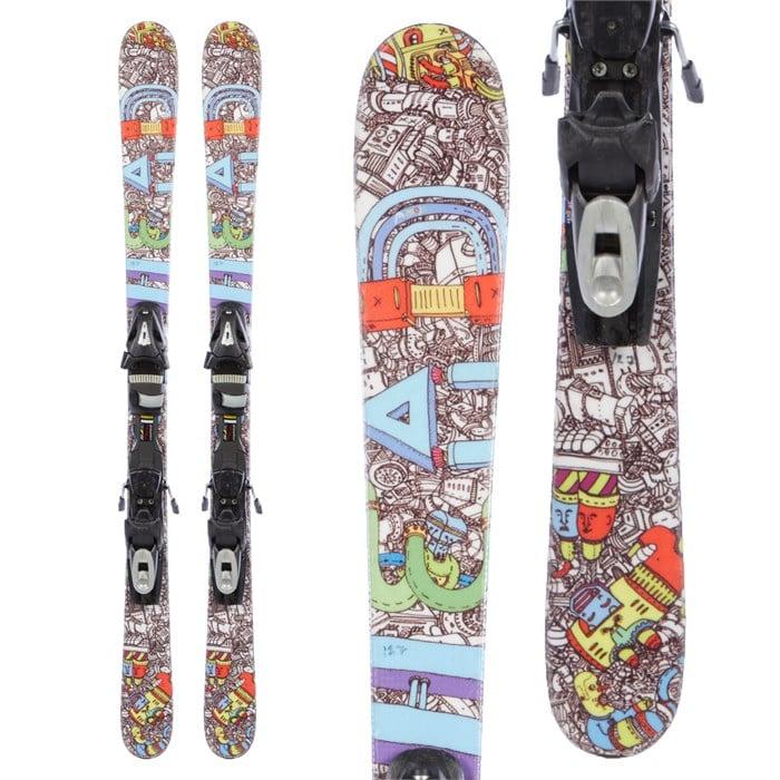 Head Mojo Jr. Skis + Tyrolia SP 7 Bindings