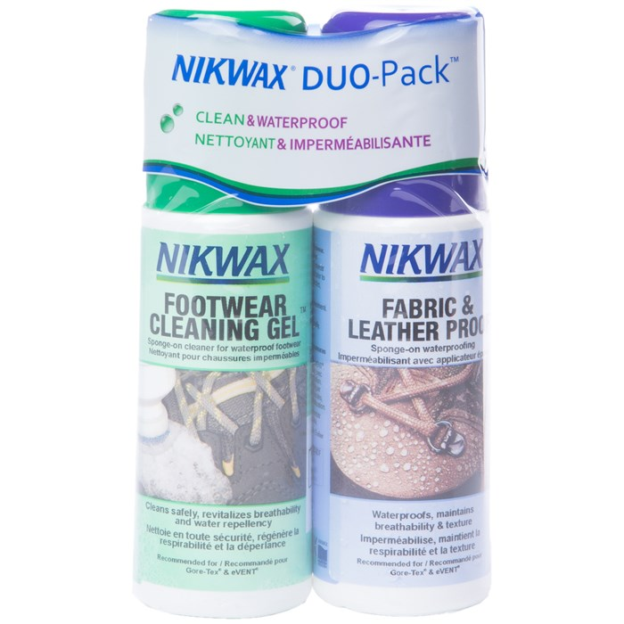 Nikwax - Fabric and Leather DuoPack 4.2 fl. oz.