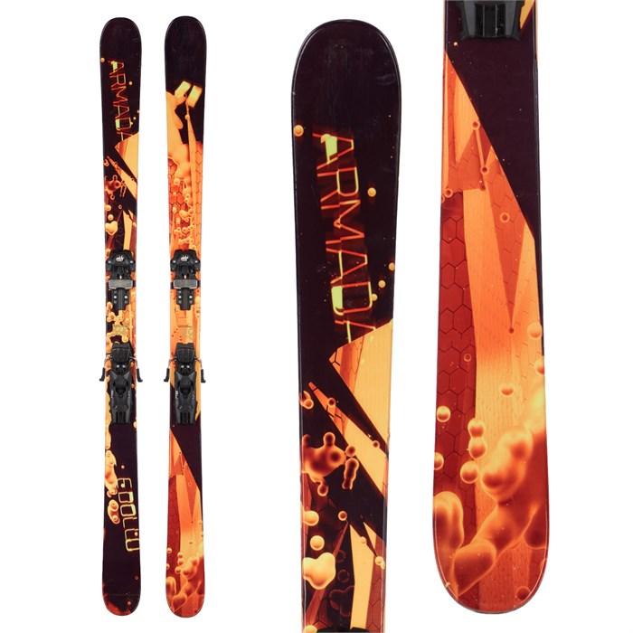 Armada Edollo Skis + Tyrolia Attack 13 Demo Bindings 2016