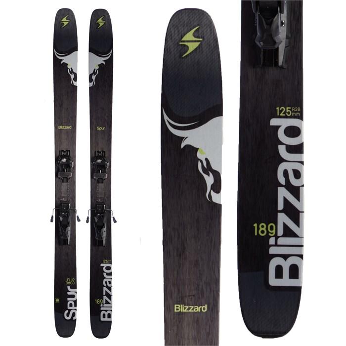 Blizzard Spur Skis + Marker Griffon Demo Bindings 2015