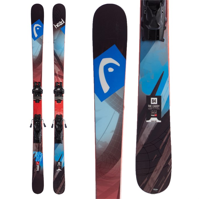 Head The Caddy Skis + Tyrolia Attack 13 Demo Bindings 2016
