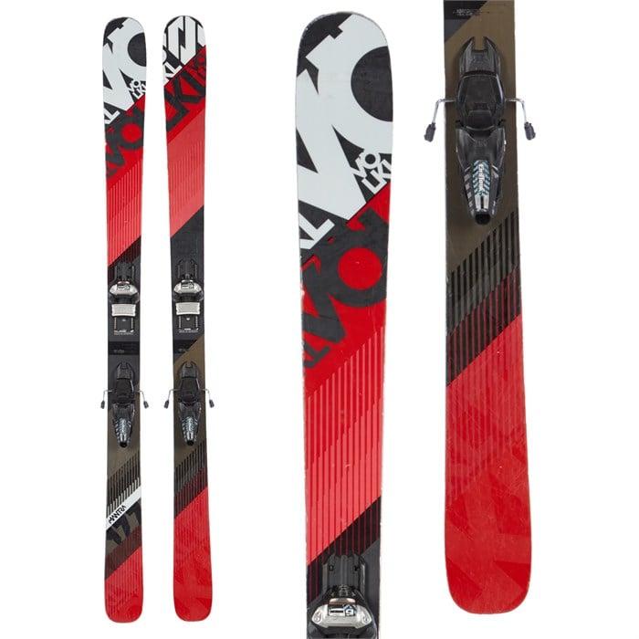 Volkl Mantra Skis + Marker Griffon Demo Bindings 2016