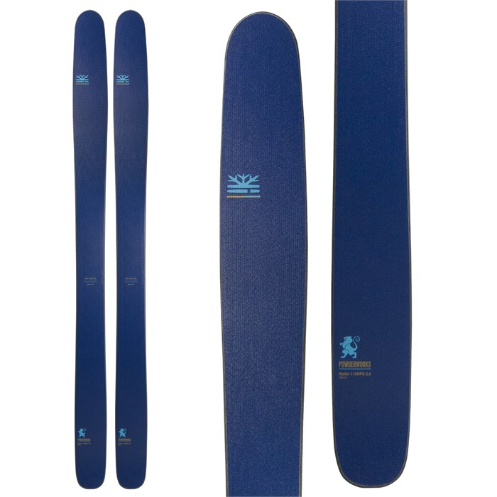 DPS - Wailer 112 RPC 2.0 - Powderworks Edition Skis 2017