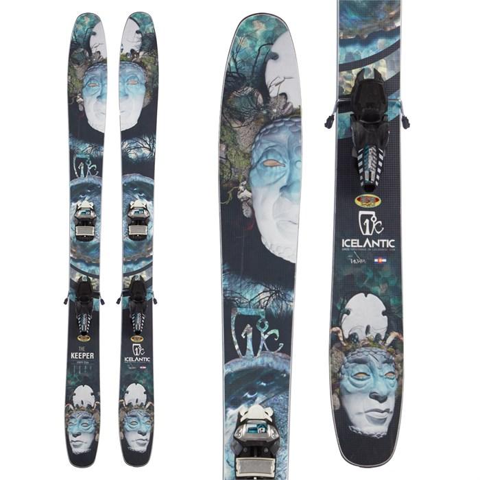 Icelantic Keeper Skis + Marker Griffon Bindings 2015