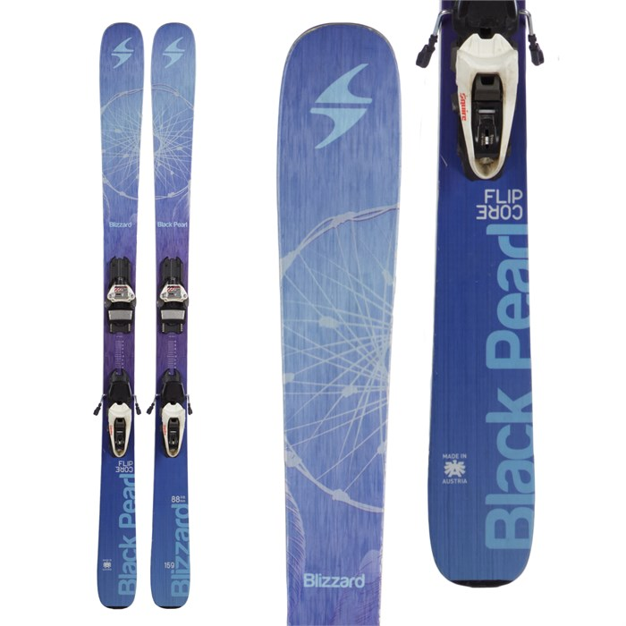 Blizzard - Black Pearl Skis + Marker Squire Demo Bindings - Women s 2016 ... fd56dd389dbb