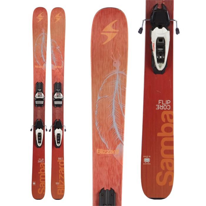 Blizzard Samba Skis + Marker Squire Demo Bindings