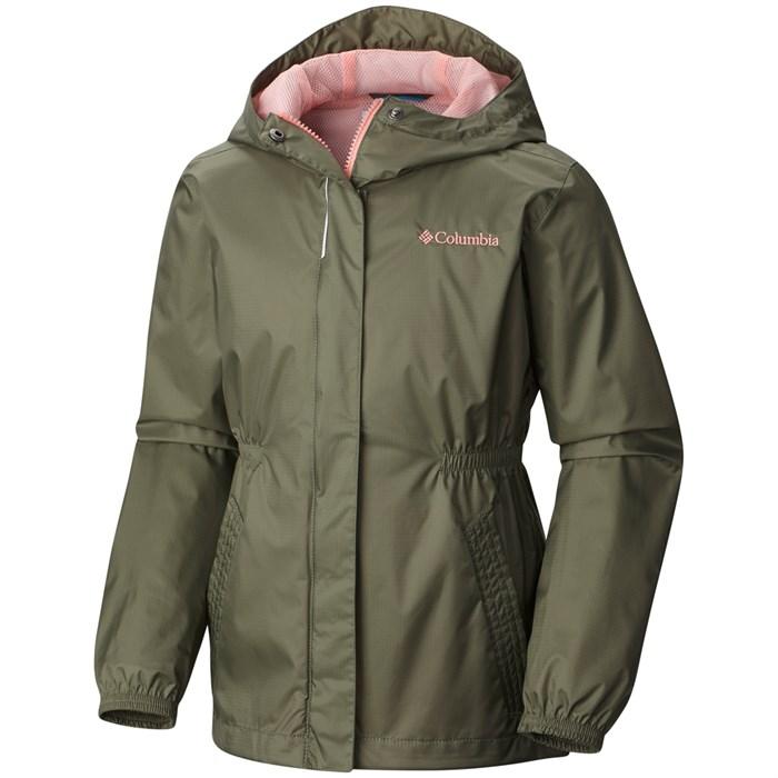 3b6bcae9a5d Columbia - Explore More Rain Jacket - Girls  ...