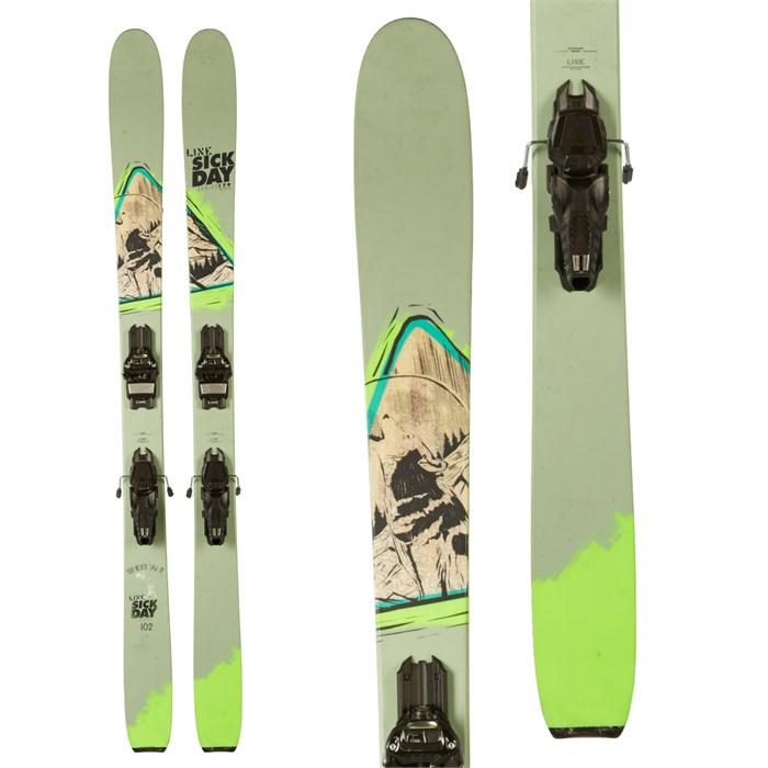 Line Skis Sick Day 102 Skis + Marker Griffon Demo Bindings