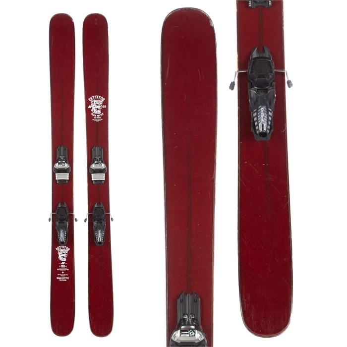 K2 Pettitor Skis + Marker Griffon 110 Demo Bindings 2016