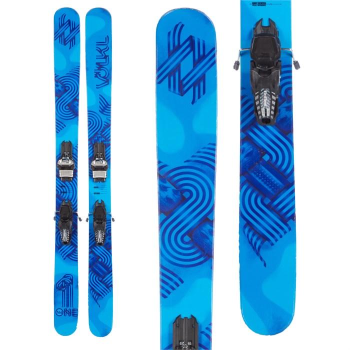 Volkl One Skis + Marker Griffon 110 Demo Bindings 2016