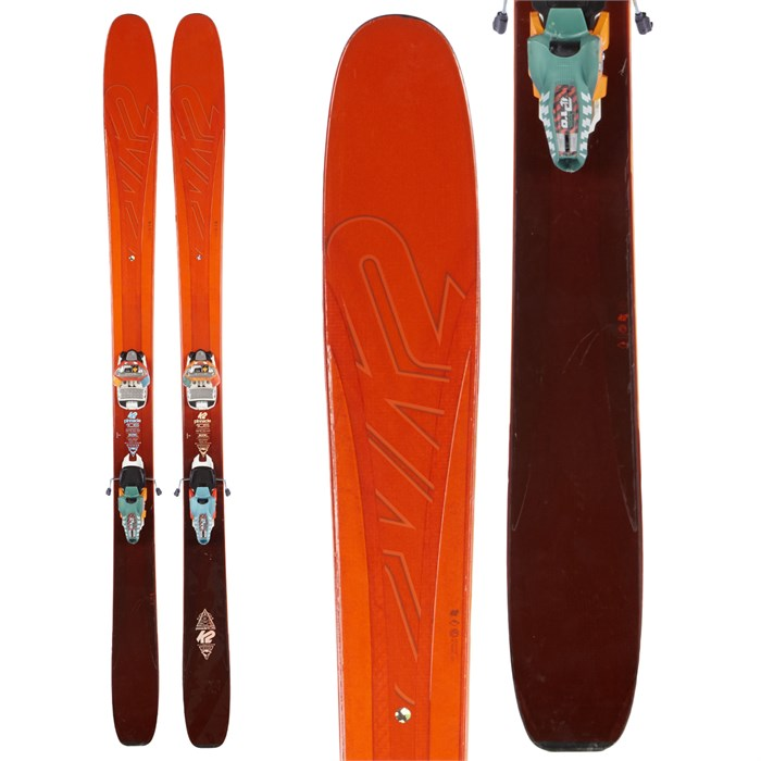 K2 Pinnacle 105 Skis + Marker Jester Pro Bindings 2016